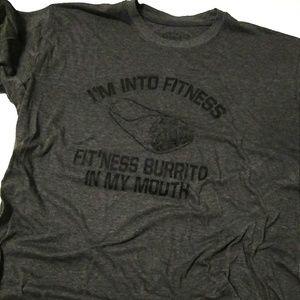 Crazydog Trendy Grey Sz Lg Burrito T-Shirt